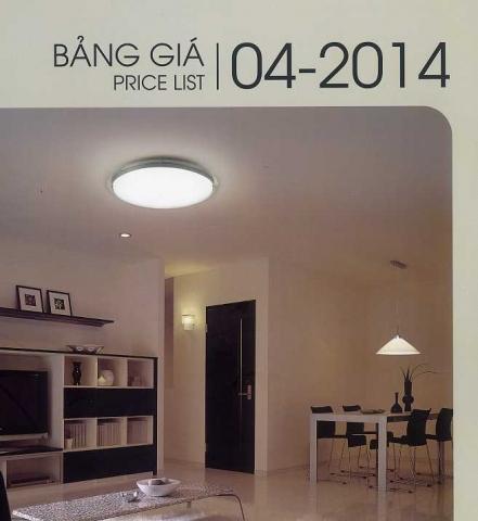 Catalog và báo giá tháng 4/2014 Panasonic