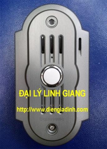 Nút nhấn chuông màn hình Panasonic vỏ kim loại VL-GC005VN-S