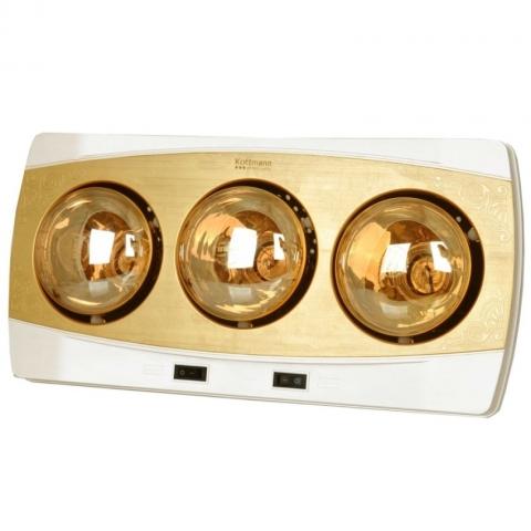 Đèn sưởi Kottmann 3 bóng vàng mã K3B-H